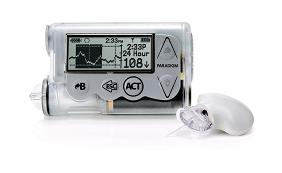 Hệ thống theo dõi đường huyết hiển thị liên tục trên màn hình